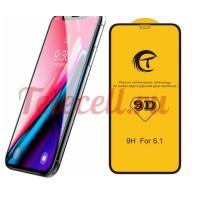 Цветное защитное 9D стекло на iPhone X