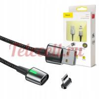 КАБЕЛЬ МАГНИТНЫЙ BASEUS ZINC USB FOR IP 2.4A 1M CALXC-A01