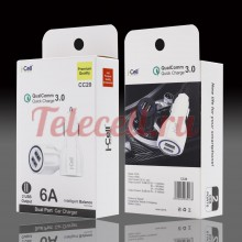 i-cell CC-20 QualComm 3.0 Автомобильное  зарядное устройство