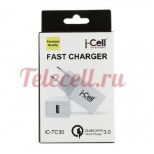 i-cell Сетевые Блоки питания 1 USB Qualcomm 3.0 TC-30