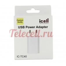 i-cell Сетевые Блоки питания 1 USB  TC-40
